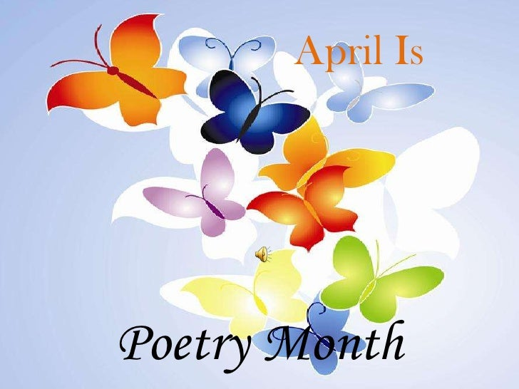 April Is<br />Poetry Month<br />