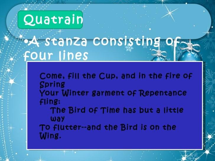 easy quatrain poems examples - photo #17