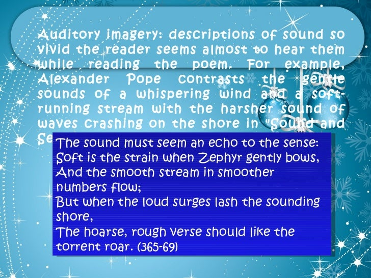the use of imagery in the poem the fish by elizabeth bishop Elizabeth bishop was born on february 8,  rainbow, rainbow and i let the fish go  click the icon above to listen to this audio poem 2 poem.