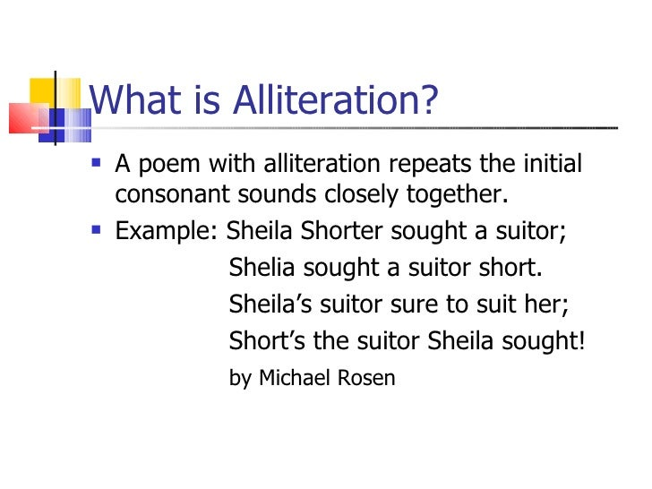 Rhyme rhythm and alliteration for Alliteration poem template