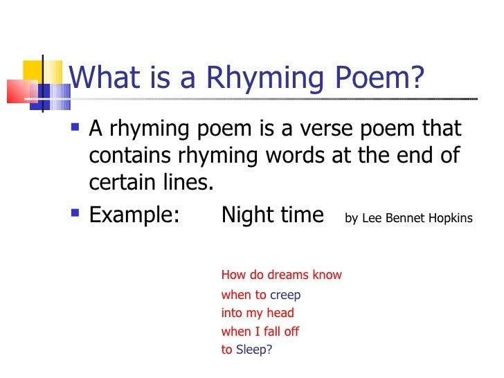 Rhyme, Rhythm, and Alliteration
