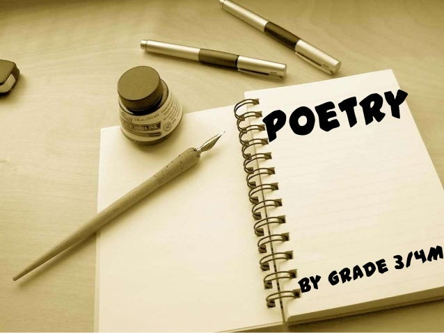 This term grade 3/4M have beenlearning about different types of  poetry. We have learnt about-         • Acrostic poems   ...