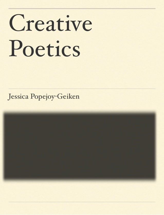 CreativePoeticsJessica Popejoy-Geiken