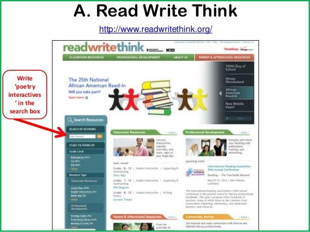 Read Write Think Theme Poems 2