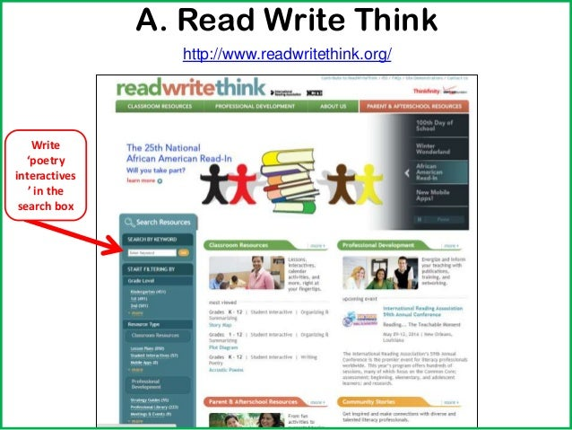Read Write Think Theme Poems 2