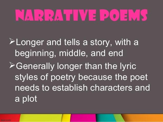 Lyric Poem Examples
