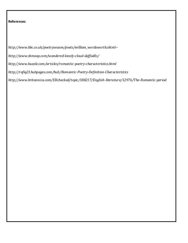 william wordsworth research paper