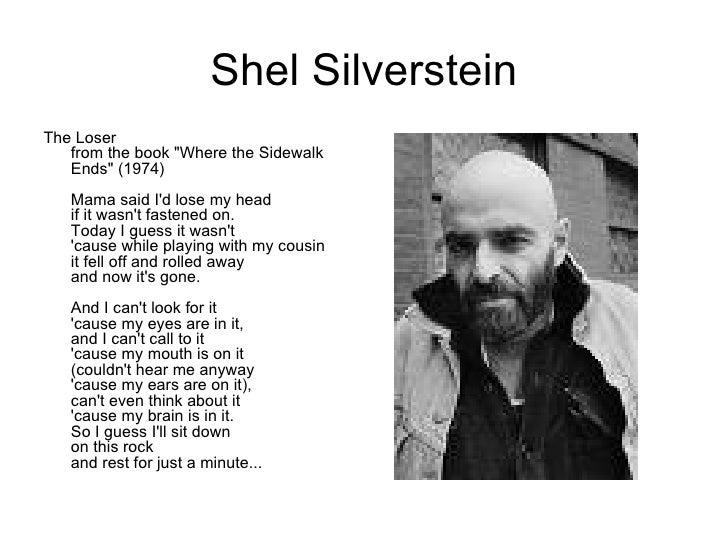 Shel Silverstein Books: Poetry Corner