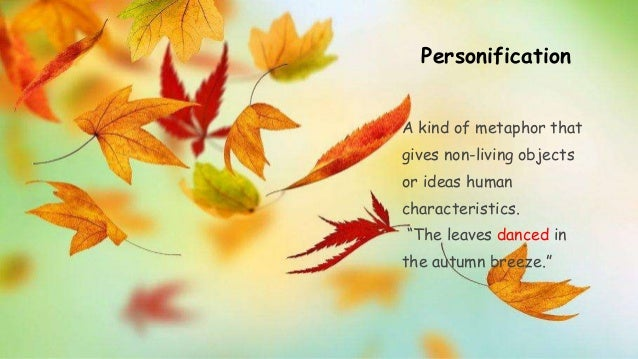 metaphors in the poem to autumn