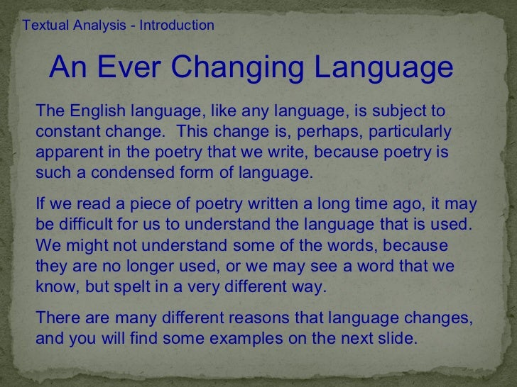 Introducing and Reading Poetry with English Language Learners