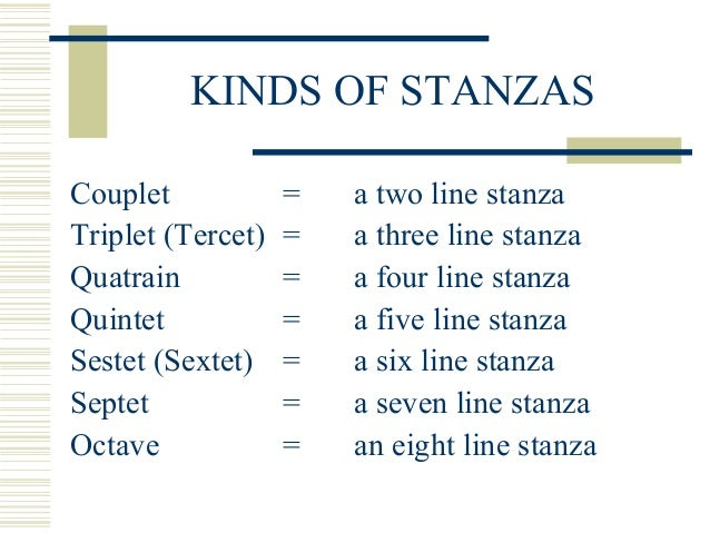 3 stanza poems 3 stanzas and a refrain characterize this poetic form  the rondeau, like its  cousin, the triolet, originated in the poems and songs of french.