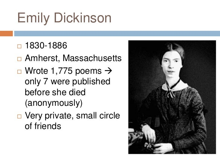 emily dickinson poems comparison Category: essays research papers title: comparison of emily dickinson poems.