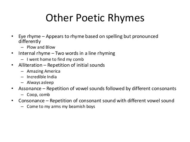 Poetry and Fiction PPT