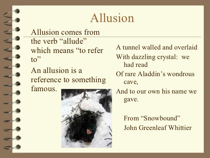 Allusion Examples For Elementary Students Choice Image Example