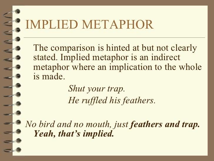 implied metaphor