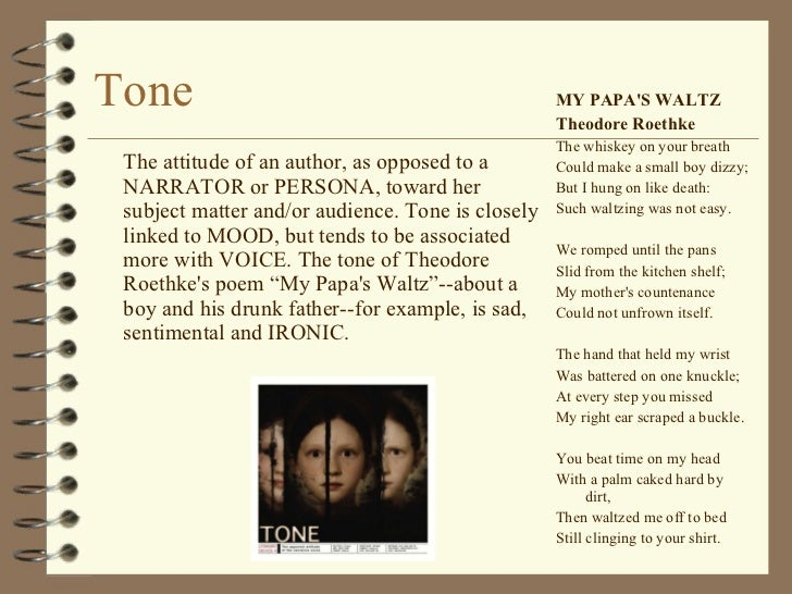 The theme of relationships with fathers my papas waltz by theodore roethke