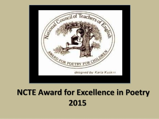 Ncte student writing awards for kids