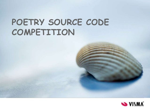 POETRY SOURCE CODECOMPETITION