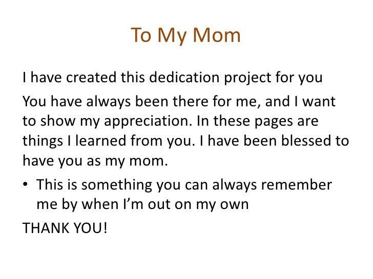 how to write a dedication speech