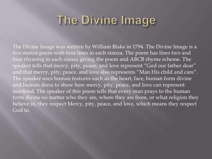 the divine image analysis