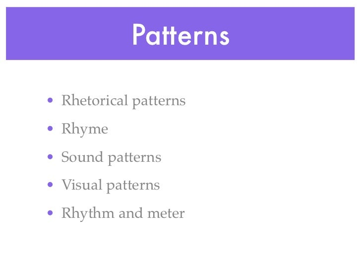 Basic Sonnet Forms