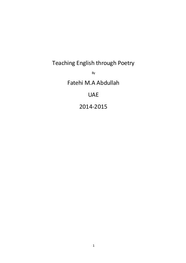Poems About Educations 3