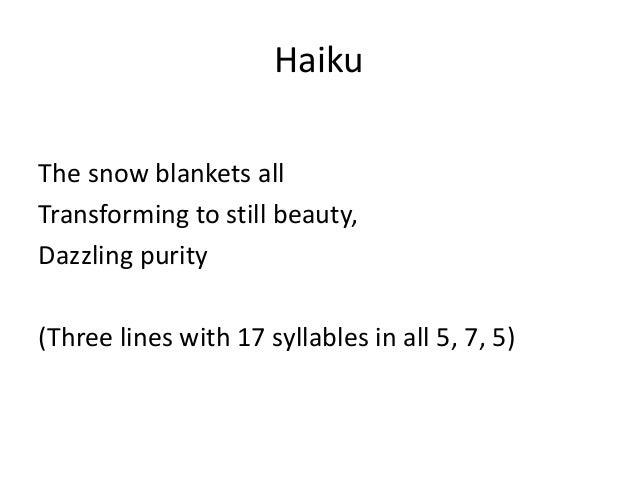 haiku poems about love 5 7 5 - photo #6