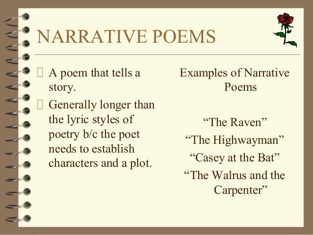 A Narrative Poems 5