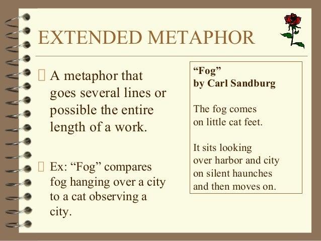 Extended metaphor essay definition