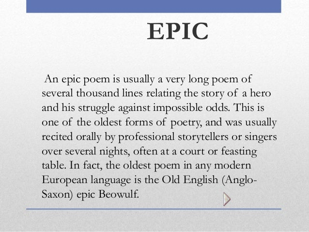epic poem examples - photo #16