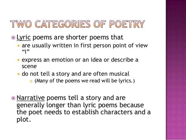 poetry powerpoint