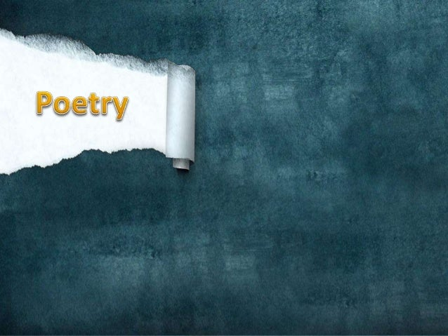 WHAT IS POETRY ANYWAY? • Meaning: what makes it poetry and not something else? • Answer: Canned Soup?