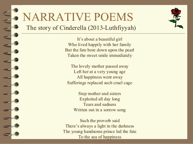 narrative poem examples - photo #10