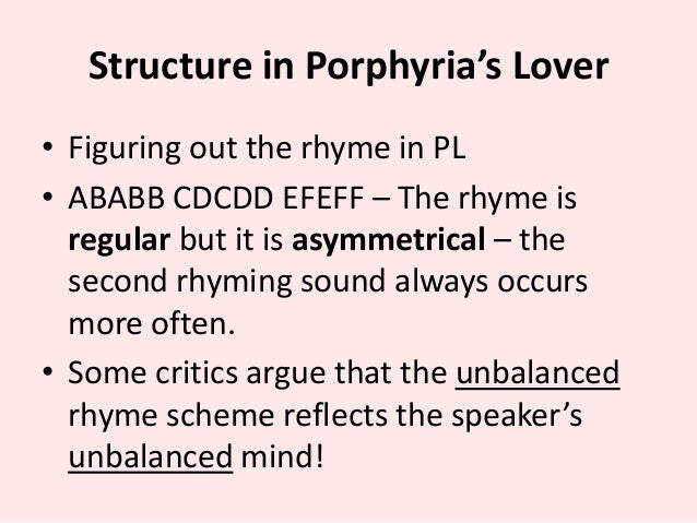 Essays on porphyrias lover