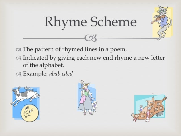 Poetry terms & types