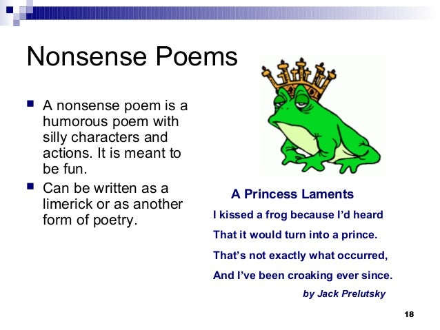 Poetry Types Of Poems