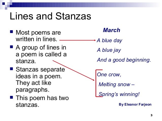 what is a four line poem called