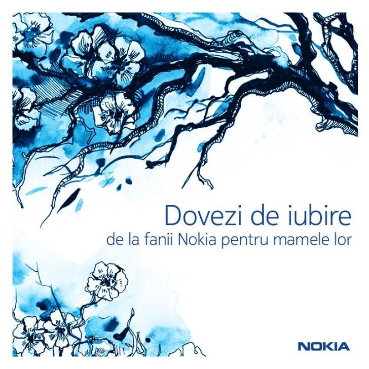 Poezii de 8 Martie de la prietenii Nokia Romania