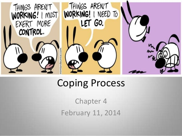 Coping Process Chapter 4 February 11, 2014