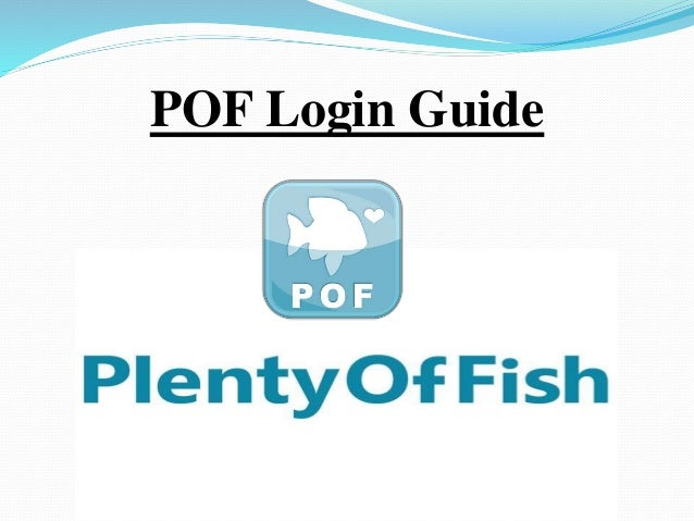 plentyoffish com login