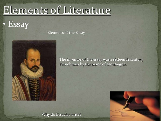 didactic essay story
