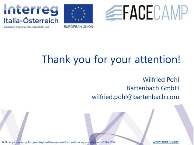 The Future Envelope 12 Results Seminar 20 May 2019, BolzanoApproaches and Technologies for Daylight | Wilfried Pohl Thank ...
