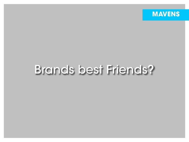 Brand Community: Brands best Friends? (german language) Slide 2