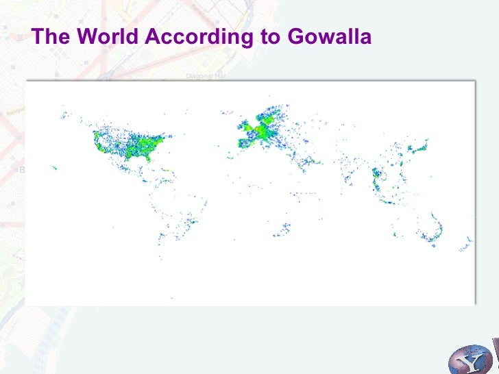 The World According to Gowalla