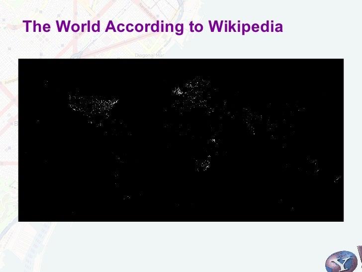 The World According to Wikipedia