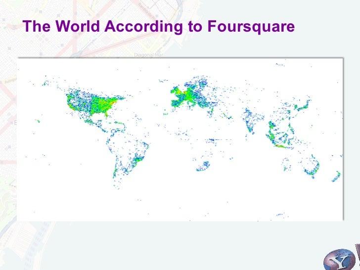 The World According to Foursquare