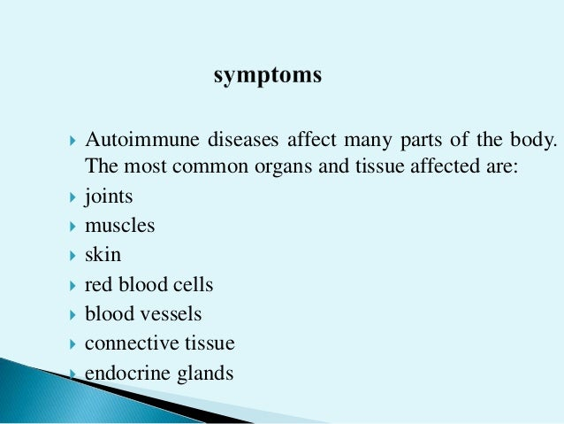 Image result for most common symptoms autoimmune disease
