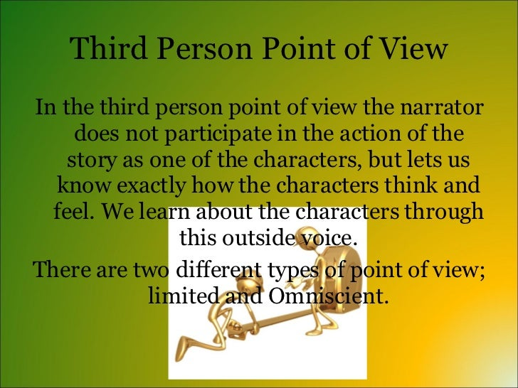 characterization and point of view in