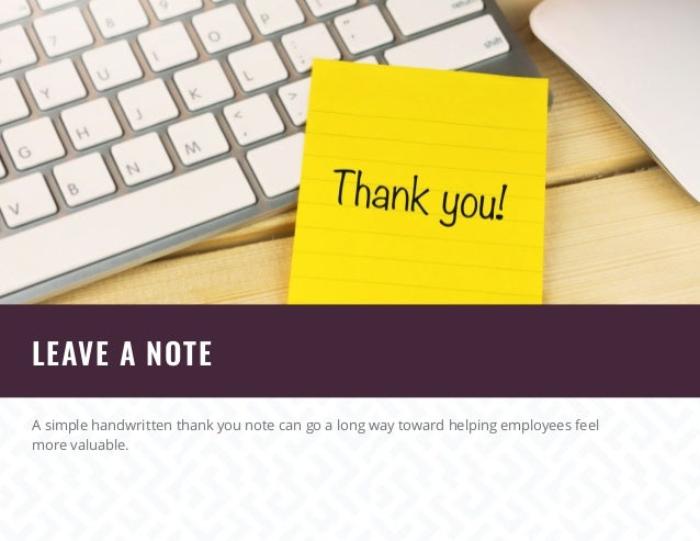 Creative Ideas For Employee Recognition