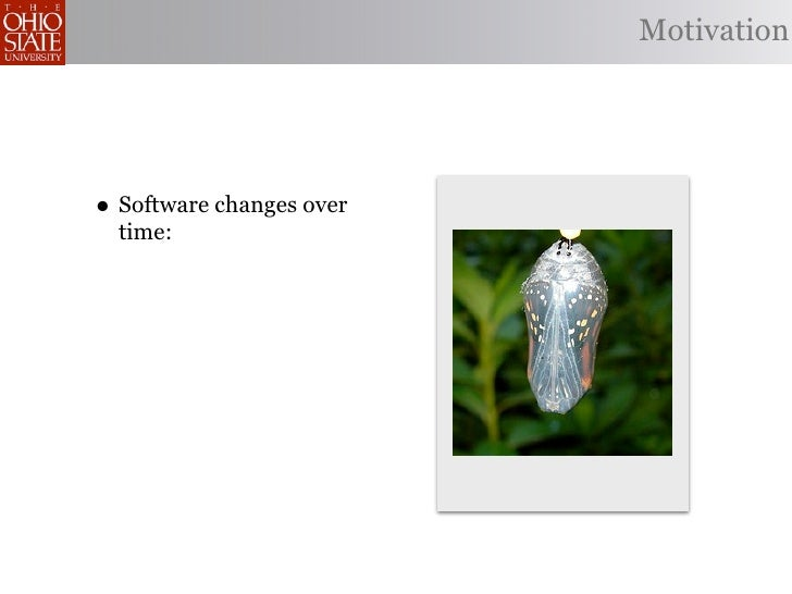 Pointcut Rejuvenation: Recovering Pointcut Expressions in Evolving Aspect-Oriented Software Slide 3